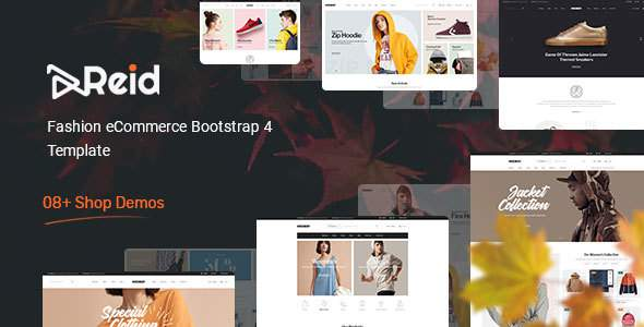 Reid – Fashion eCommerce Bootstrap 4 Template        TFx Carlisle Jade