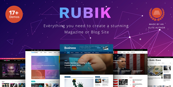 Rubik – A Perfect Theme for Blog Magazine Website        TFx Byrne Biff
