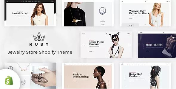 Ruby – Jewelry Store Shopify Theme        TFx Dylan Avedis