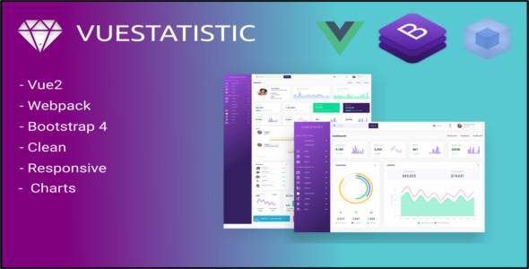Vuestatistic- Admin Dashboard Template        TFx Wil Norris