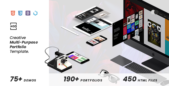 XOD — Multi-Purpose Creative HTML Template        TFx Westley Rene