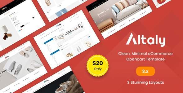 Altaly Multipurpose - Responsive Opencart 3.0 Theme        TFx Al Austyn