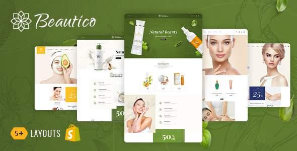 Beautico - Shopify Multi-Purpose Responsive Theme        TFx Landen Sylvester