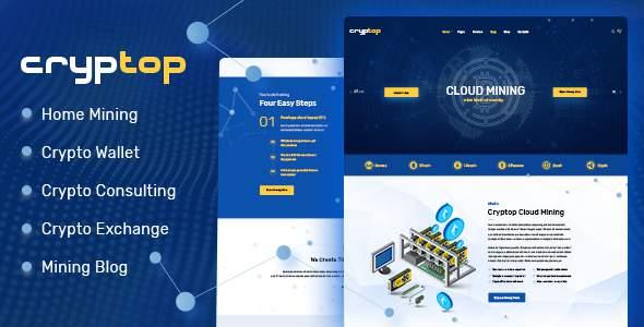 CrypTop - ICO Landing and CryptoCurrency WordPress Theme        TFx Rudolf Ellis
