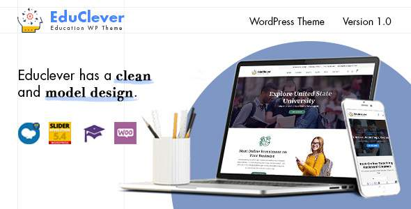 Educlever - Education WordPress Themes        TFx Daniel Setiawan