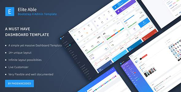 Elite Able - Bootstrap 4 Admin Template        TFx Gaz Ray