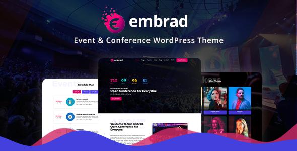 Embrad - Event & Conference WordPress Theme        TFx Charley Zack