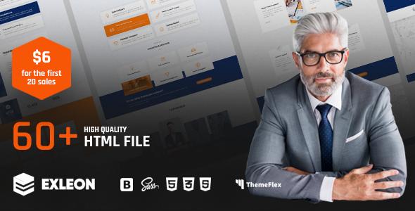 Exleon   The Multi-Purpose HTML5 Template        TFx Indigo Kouta