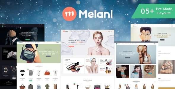 Melani - Multipurpose Shopify Theme        TFx Jason Prince