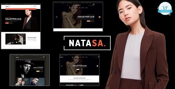 Natasa - T-shirt Fashion Shopping PrestaShop 1.7 Theme        TFx Kouki Shel