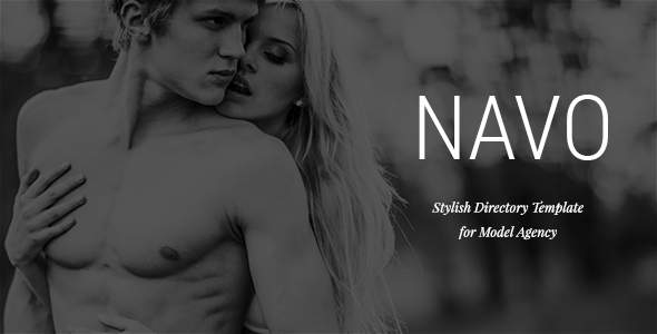 Navo - Stylish Directory Template for Model Agency        TFx Tristin Dutch