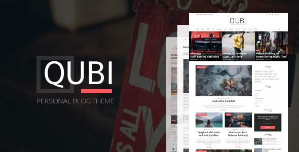 Qubi Blogger Template | Fashion, Beauty,  News & Blog Theme        TFx Rudy Corey
