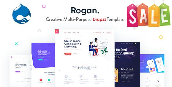 Rogan - Creative Multi-Purpose Drupal 8 Theme        TFx Spike Mattie