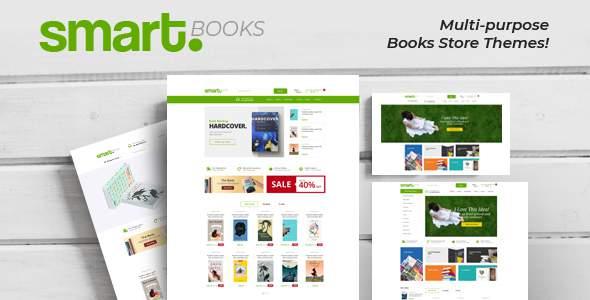 SmartBook - eBooks , Bookstore Shopify Theme        TFx Haru Eldon