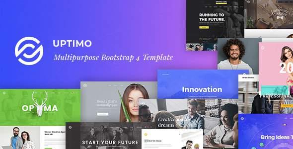 Uptimo - Multipurpose Bootstrap 4 Template        TFx Ren Orson