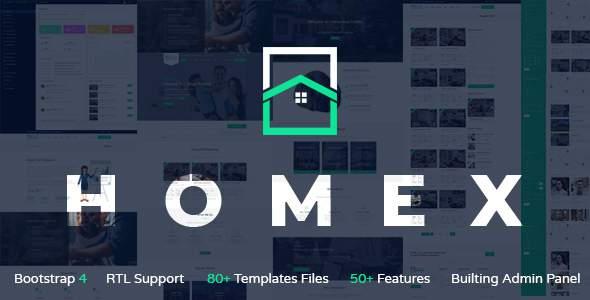Homex - Real Estate Template        TFx Cecil Osbourne