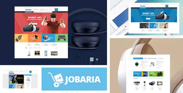Jobaria - Digital Products Store eCommerce Bootstrap 4 Template        TFx Chas Tiriaq