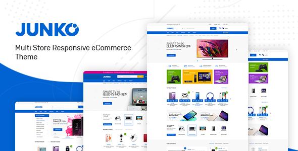 Junko - Technology Theme for WooCommerce WordPress        TFx Ayden Keir