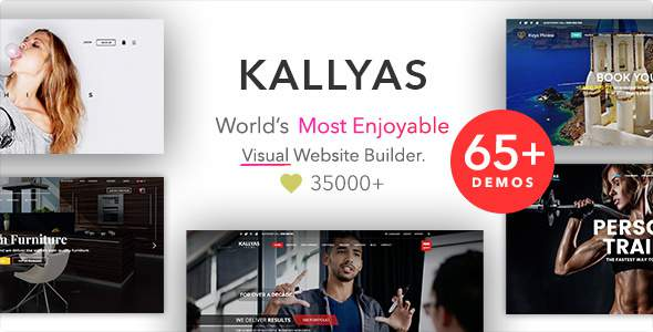 KALLYAS - Creative eCommerce Multi-Purpose WordPress Theme        TFx Collin Isador