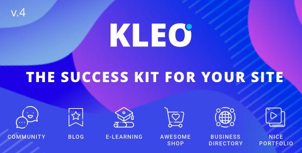 KLEO - Pro Community Focused, Multi-Purpose BuddyPress Theme        TFx Constant Benjy