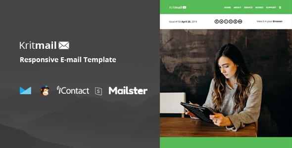 Krit Mail – 40+ Modules + Online Access + Mailster + MailChimp        TFx Hoyt Raymund