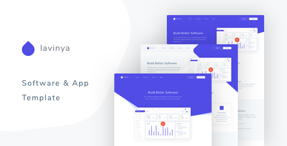 Lavinya – Software and App Template        TFx Eddy Shad