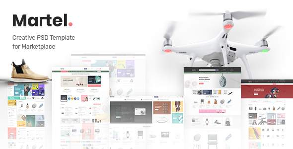 Martel - PSD Template for Marketplace        TFx Xander Rich