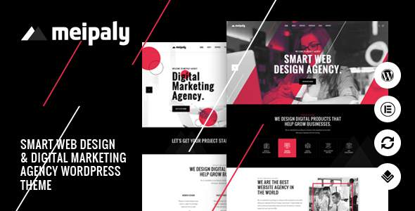 Meipaly - Digital Services Agency WordPress Theme        TFx Karter Will