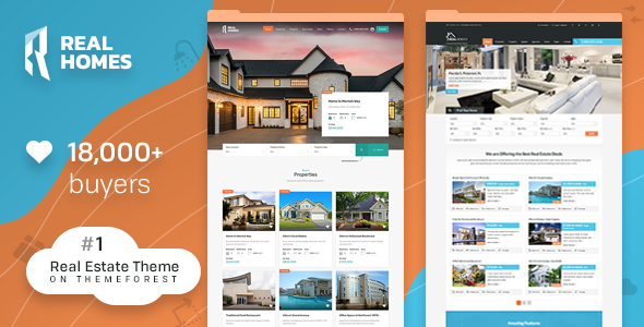 Real Homes - WordPress Real Estate Theme        TFx Hayate Kade