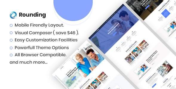 Rounding - Business WordPress Theme        TFx Godfrey Gall