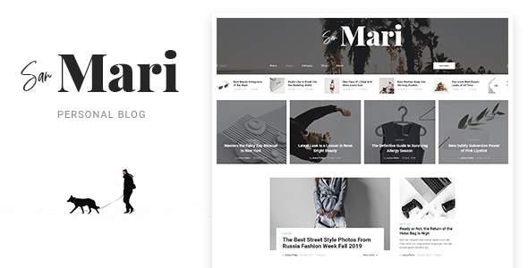 San Mari - Blog PSD Template        TFx Arden Frazier