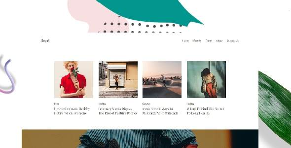 Sogut – Personal Blog & Magazine WordPress Theme        TFx Cliff Elias
