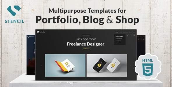 Stencil - Creative Multi-Purpose HTML Theme        TFx Alphonso Carran