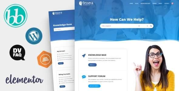 Tessera - Knowledge Base & Support Forum WordPress Theme        TFx Biff Josiah