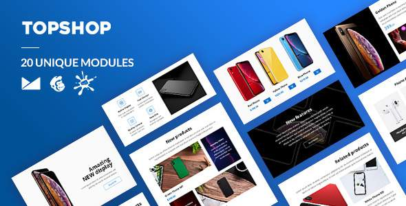 TopShop Email-Template + Online Builder        TFx Isidore Truman