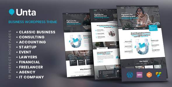 Unta | A MultiPurpose Business WordPress Theme        TFx Swithun Takehiko