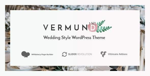 Vermund - Elegant Wedding WordPress Theme        TFx Alphonzo Yuudai