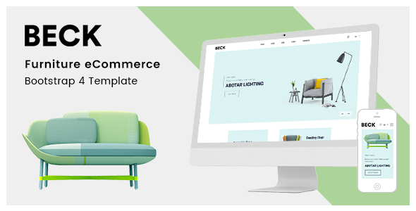 Beck – Furniture eCommerce Bootstrap 4 Template        TFx Woodie Patsy