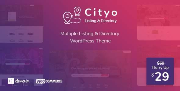 Cityo - Multiple Listing Directory WordPress Theme        TFx Reginald Yuu