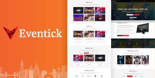 Eventick - Event & Conference HTML Template        TFx Milo Youta
