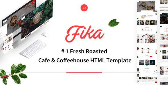 Fika – Cafe & Coffeehouse HTML Template        TFx Archer Stanislas