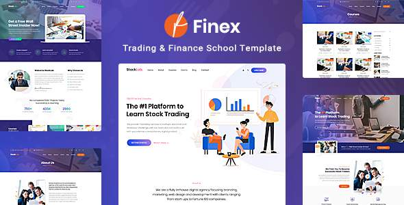 Finex – Trading and Finance School PSD Template        TFx Remington Jaymes