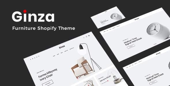 Ginza - Furniture Shopify Theme        TFx Oscar Bleda