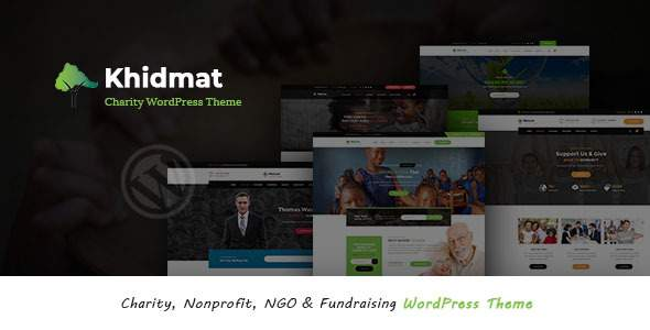 Khidmat - Multipurpose Nonprofit WordPress Theme        TFx Cary Jude