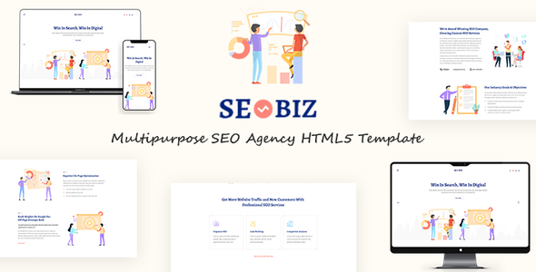 Seobiz | Multipurpose SEO HTML5 Template        TFx Sota Ashkii