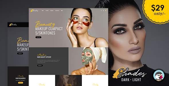 Shades - Bridal Studio - Prestashop Responsive Theme        TFx Anselm Ted