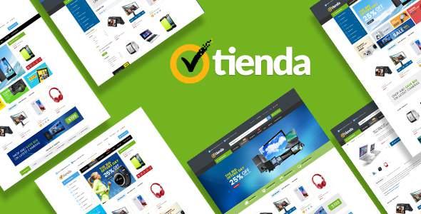 Tienda - Responsive Technology Prestashop Theme        TFx Marion Theobald