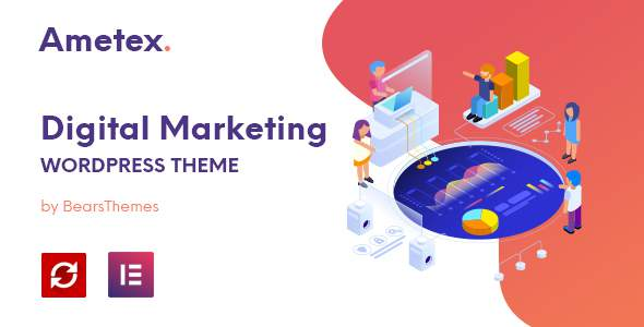 Ametex – Digital Marketing and SEO WordPress Themes        TFx Rin Kason