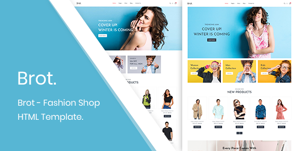 Brot – Fashion Shop HTML Template        TFx Emil Sulaiman