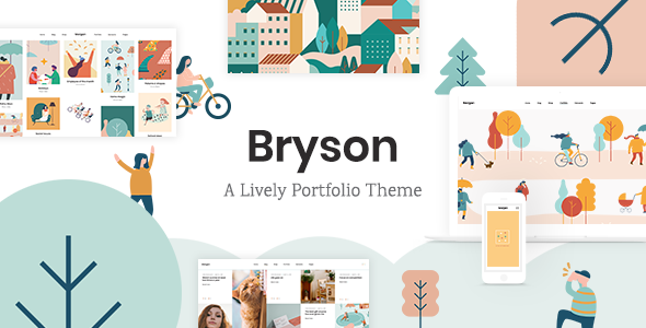 Bryson – Illustration and Design Portfolio Theme        TFx Linford Jerold